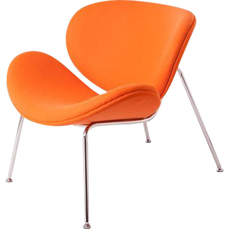 Vintage Orange Slice Chair by Pierre Paulin, France 1960s