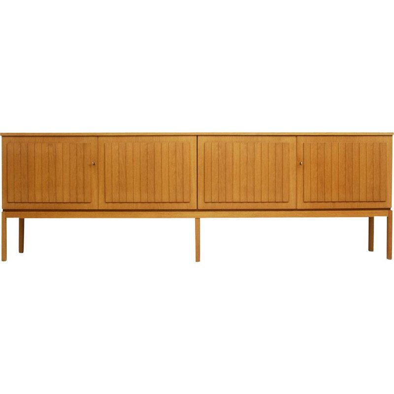 Vintage Oak Wood Sideboard Model Sylt, German