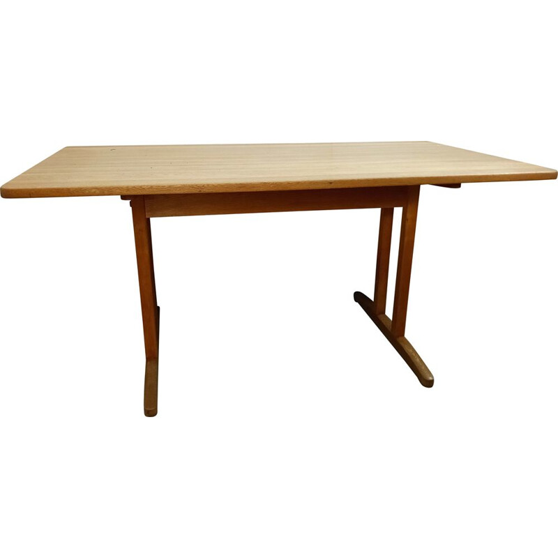 Vintage shaker table in solid oak from Borge Mogensen, Denmark
