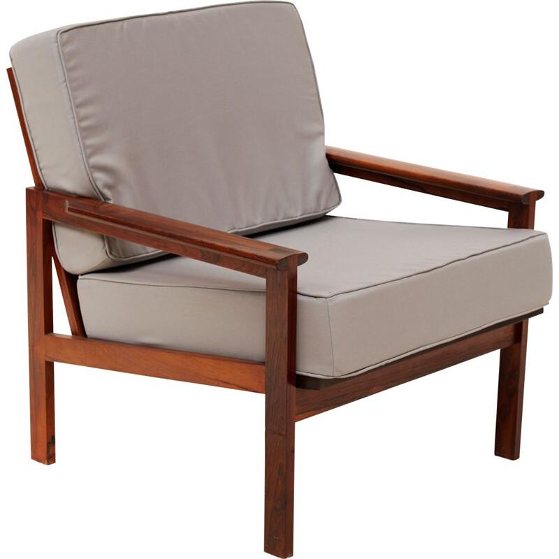 Vintage armchair by Illum Wikkelso, Danish