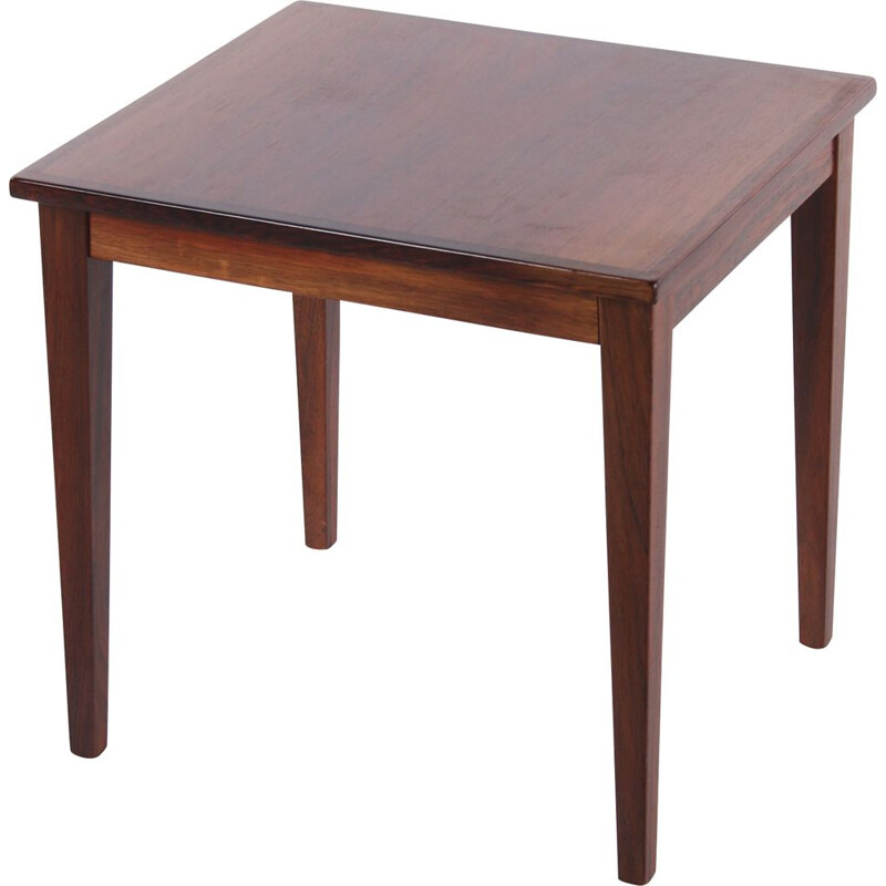 Vintage Rosewood plant table or side table, Denmark 1960s