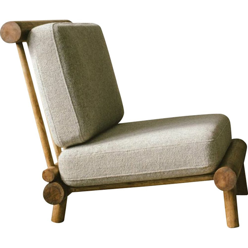 "Vintage armchair ""La Cachette"" by Charlotte Perriand"