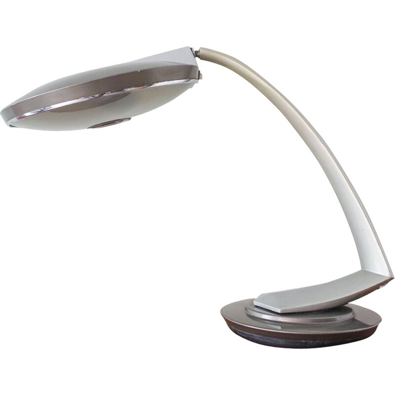 Vintage Boomerang 2000 Desk Lamp by Luis Perez de la Oliva for Fase 1960s