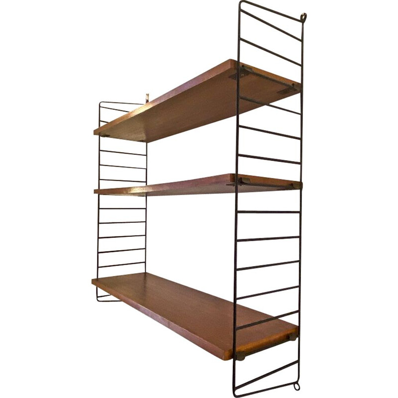 Vintage string shelf by Nils Strinning