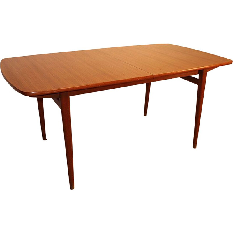 Vintage teak table, Scandinavian 1960s