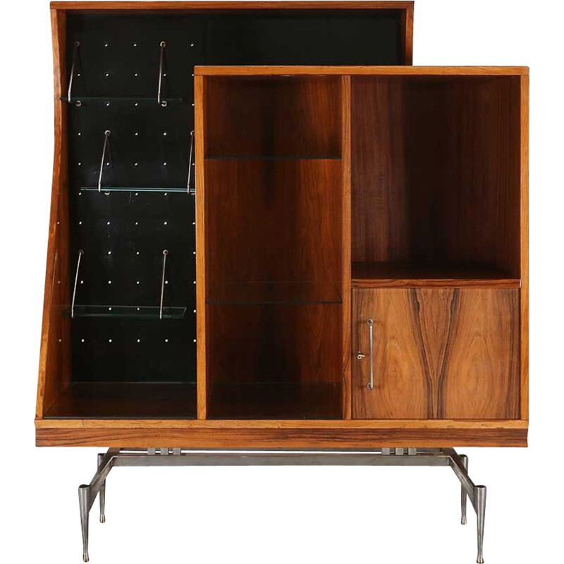 Vintage cabinet in rosewood, Italian 1960s