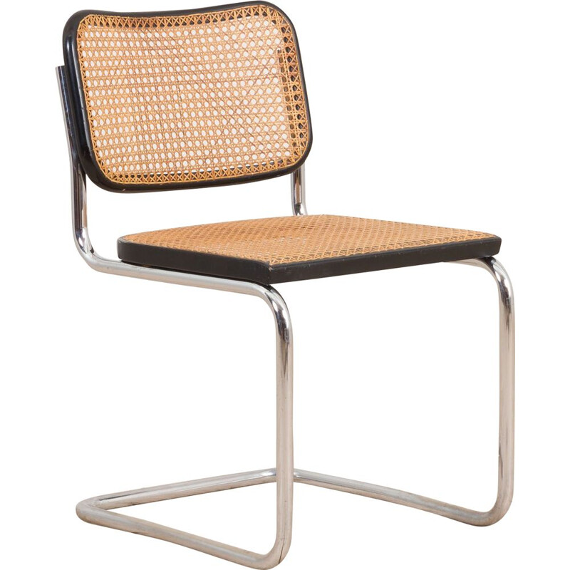 Vintage Cesca chair by Marcel Breuer for S. Gavina, Italy 1960s
