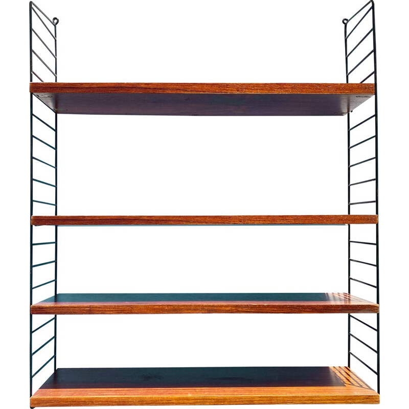Vintage modular bookshelf by Katja and Nisse Strinning, Sweden 1960s