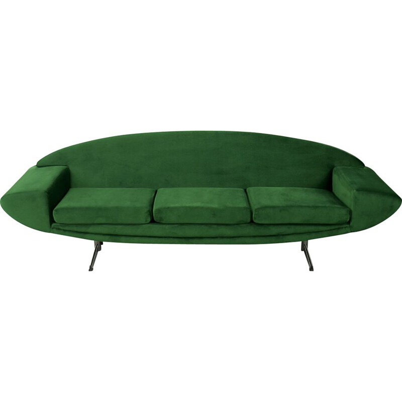 Vintage Space Age Modern Capri Sofa by Johannes Andersen for Trensum, Danish 1950s