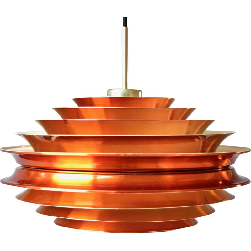 Vintage Trava Pendant Lamp by Carl Thore for Granhaga, Scandinavian 1960s