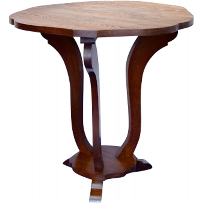 Superb Mid Century Side Table In Oakwood 1940S Download Free Architecture Designs Lukepmadebymaigaardcom