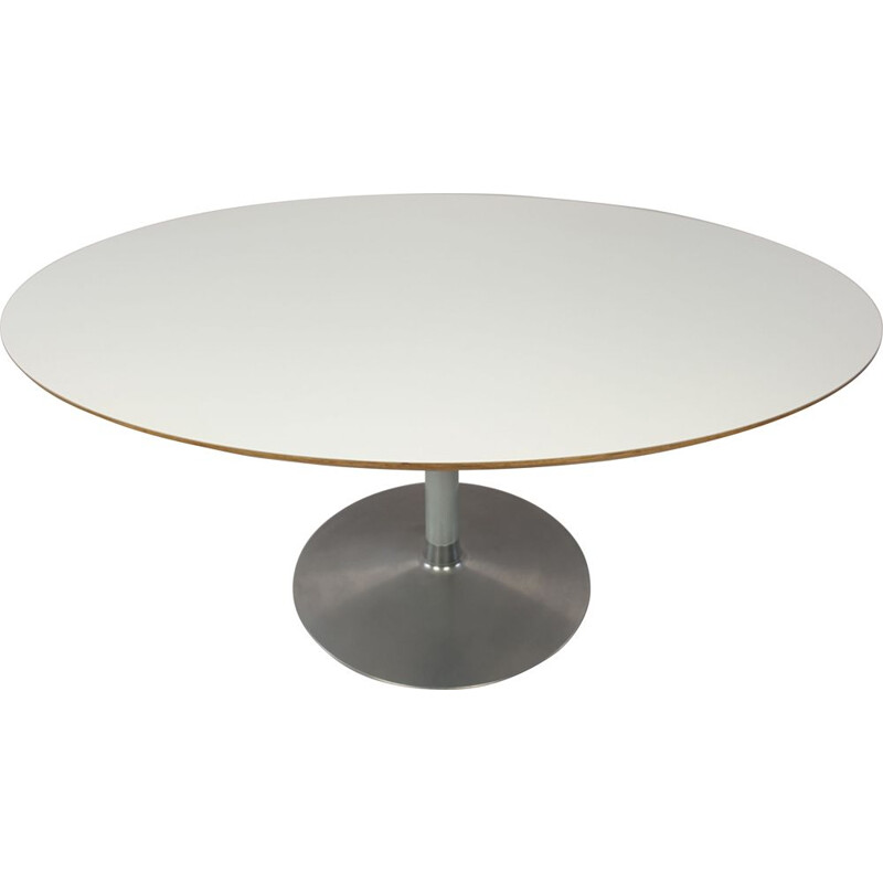 Vintage Oval Dining Table by Pierre Paulin for Artifort 1990s