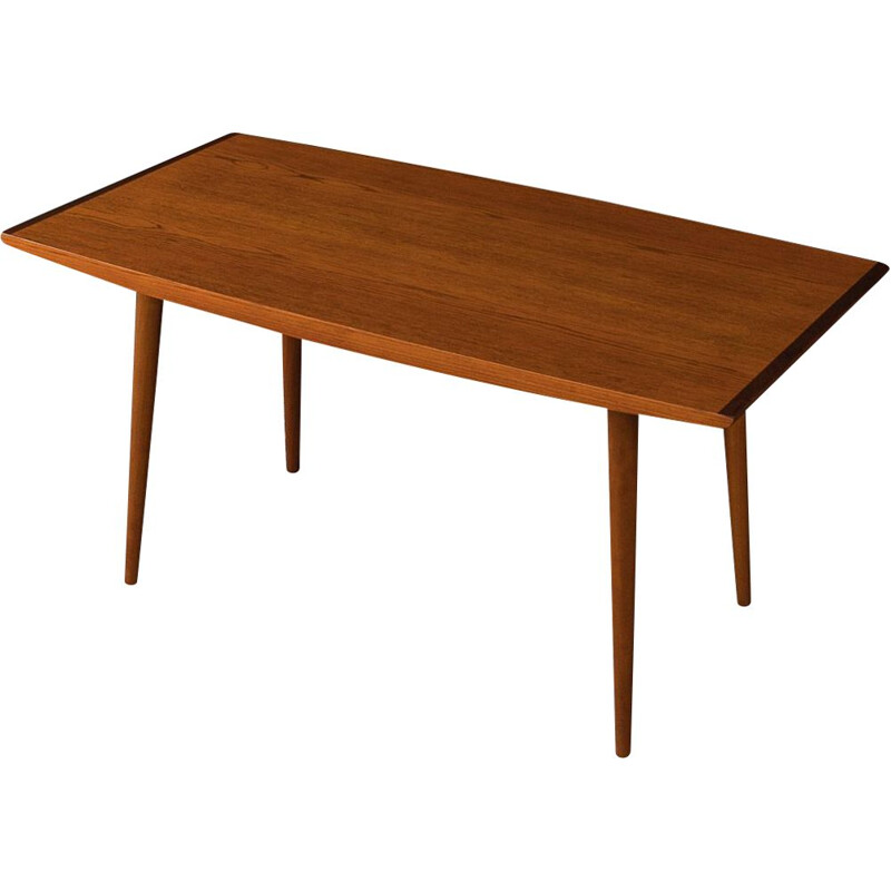 Vintage teak Coffee Table Lübke, Germany 1950s