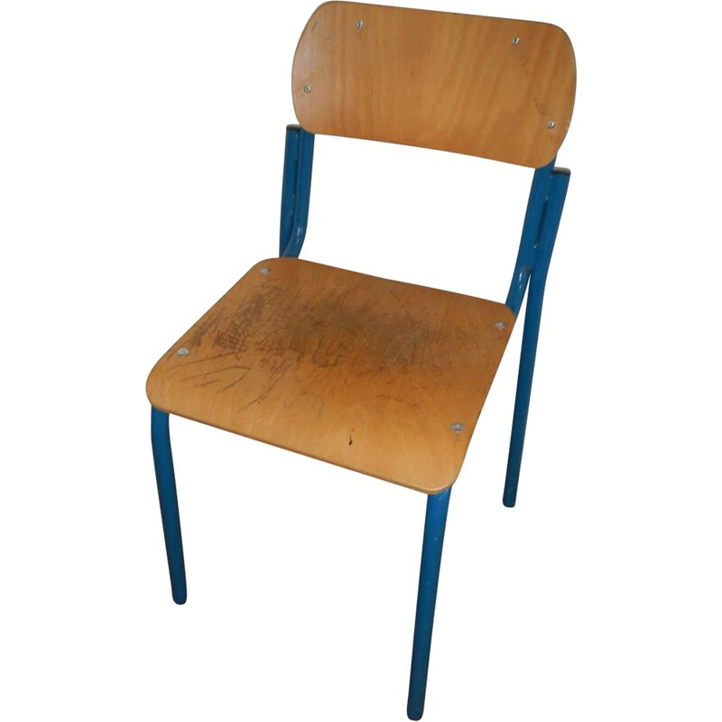 Vintage single school chair