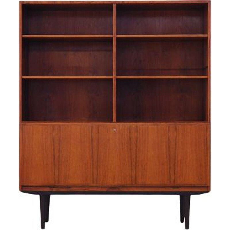 Vintage Rosewood bookcase by Omann Jun, Danish 1970s