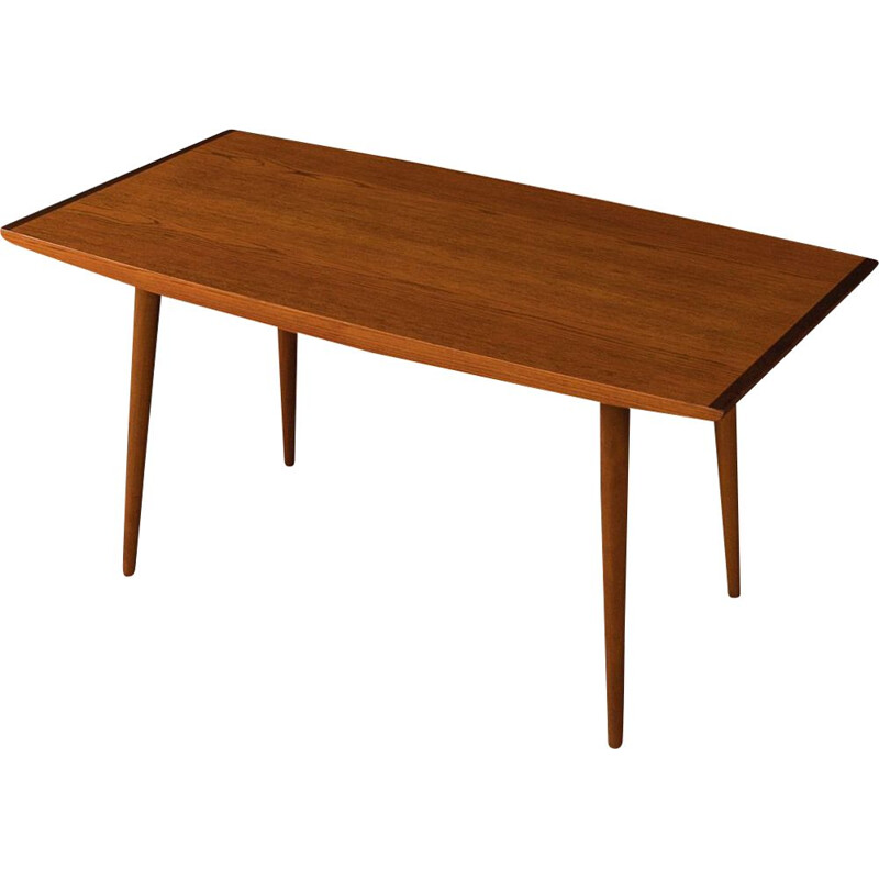 Vintage teak Dining Table, Scandinavian 1960s