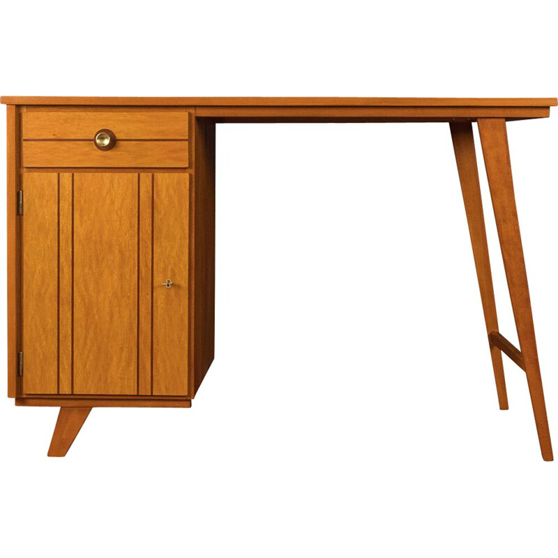 Vintage ash Desk, Germany 1950s