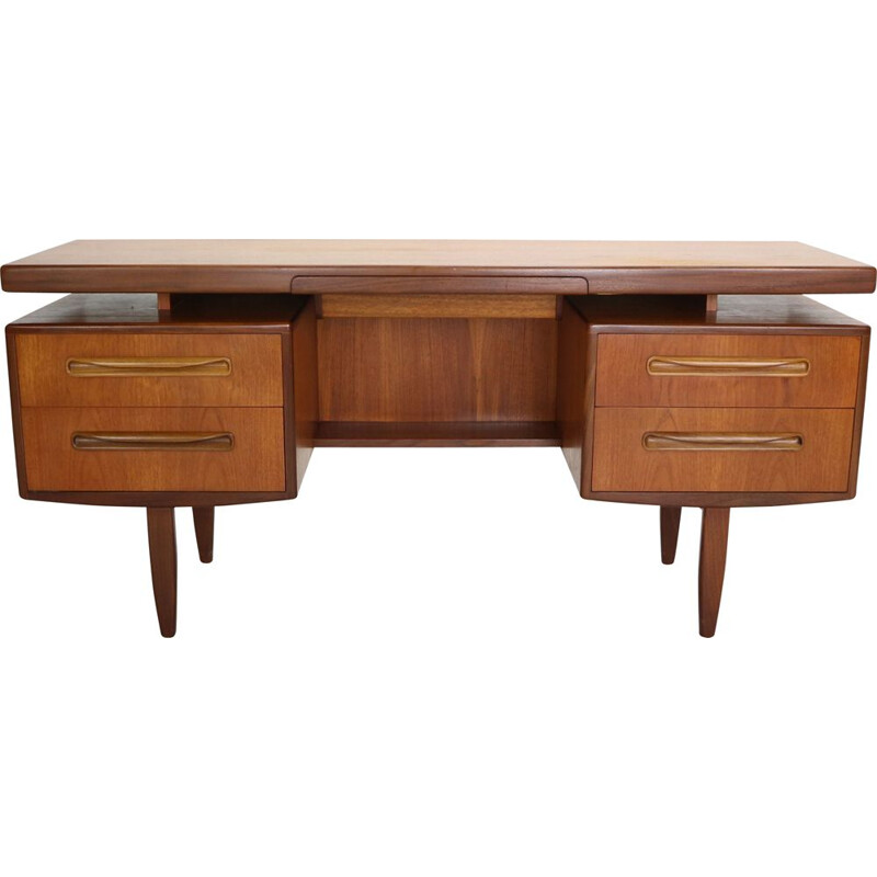 Vintage G-Plan Teak Desk by Ib Kofod-Larsen for G-plan, English 1960s