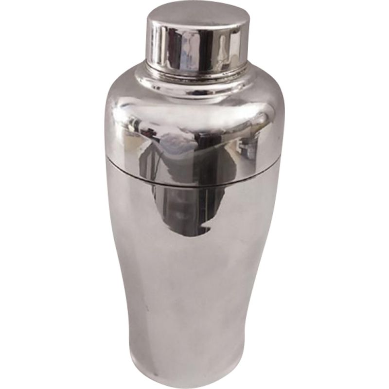 Vintage Alfra Cocktail Shaker by Carlo Alessi in Stainless Steel, Italy 1960s