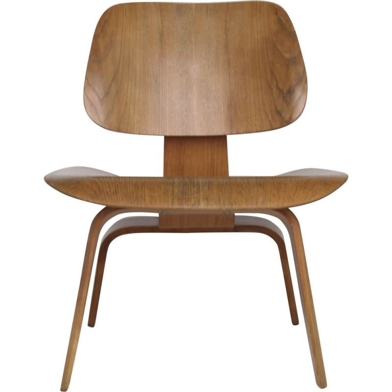 Vintage low chair by Charles & Ray Eames for Herman Miller 1950s