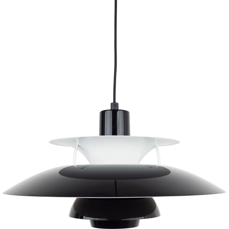 Vintage pendant lamp PH 5 by Poul Henningsen, Louis Poulsen, Danish 1958