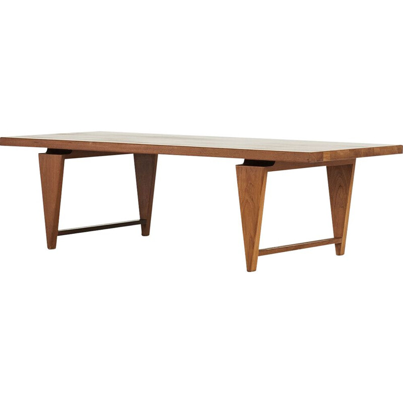 Vintage Coffee table by Illum Wikkelso for Mikael Laursen, Denmark 1960s