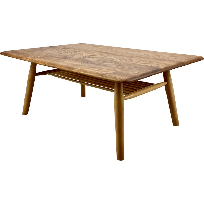 Vintage Coffee Table by Lucian R. Ercolani for Ercol 1960s