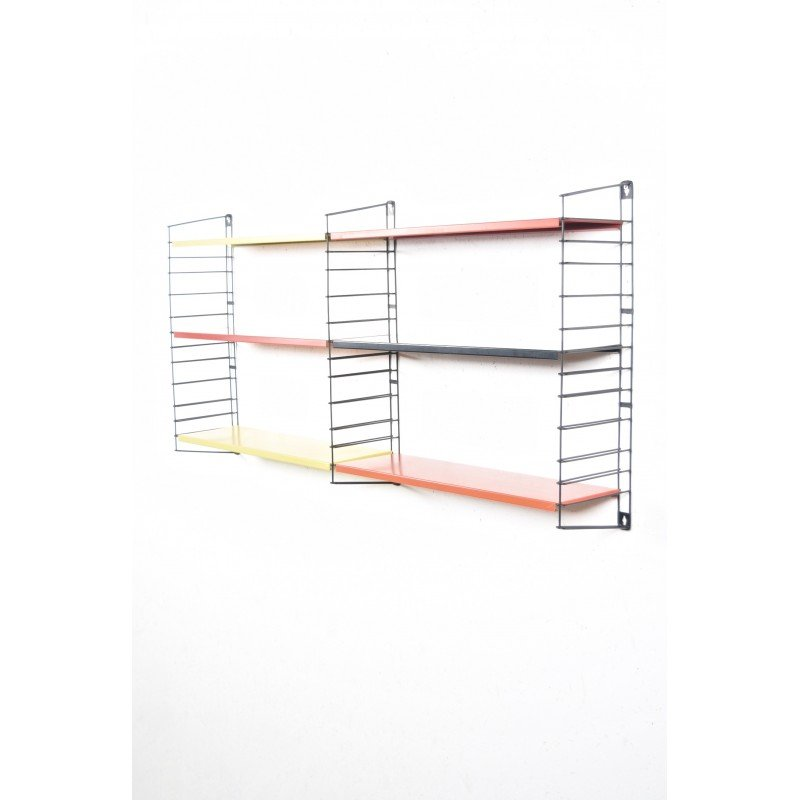 Adjustable Tomado Holland Wall Shelving System In Metal A Dekker