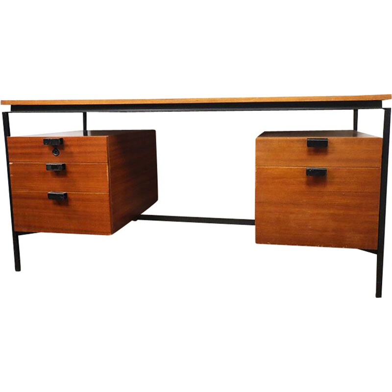 Vintage desk CM 172 by Pierre Paulin for Thonet 1950s