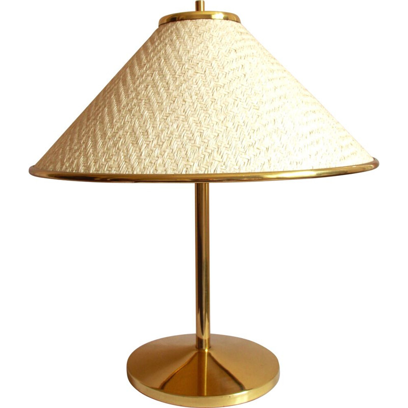 Vintage Cappello Cinese Regency Table Lamp by PAF Milano, Italy 1970s