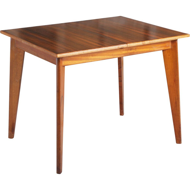 "Vintage ""Cumbrae"" walnut dining table by Morris of Glasgow 1950s"