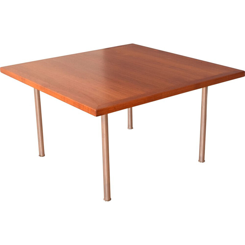 Vintage teak and rosewood coffee table by Hans J Wegner for Andreas Tuck, Denmark