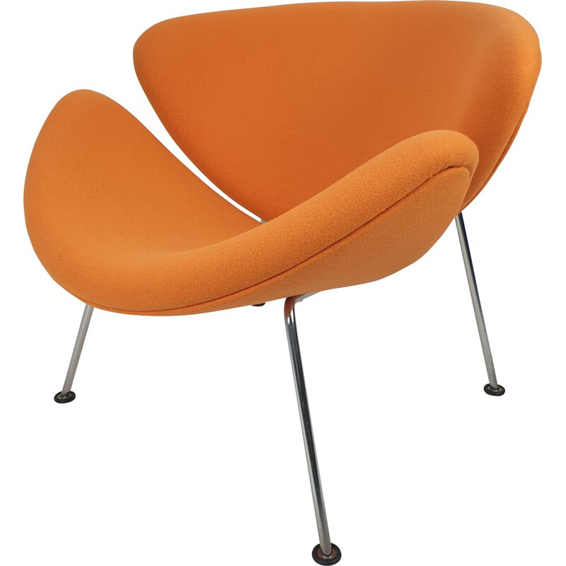 Vintage Orange Slice Lounge Chair by Pierre Paulin for Artifort 1980s