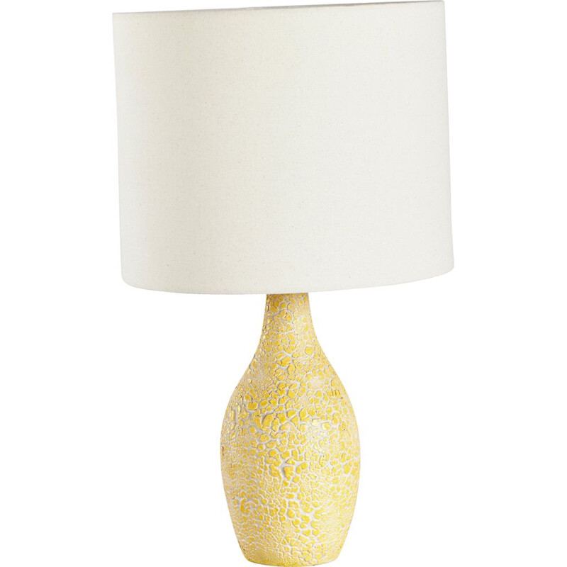 Vintage ceramic table lamp 1960