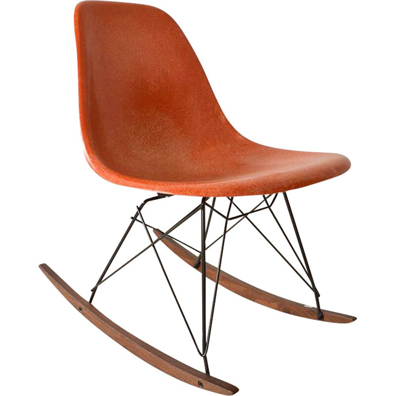 Vintage Eames rocking chair Herman Miller edition