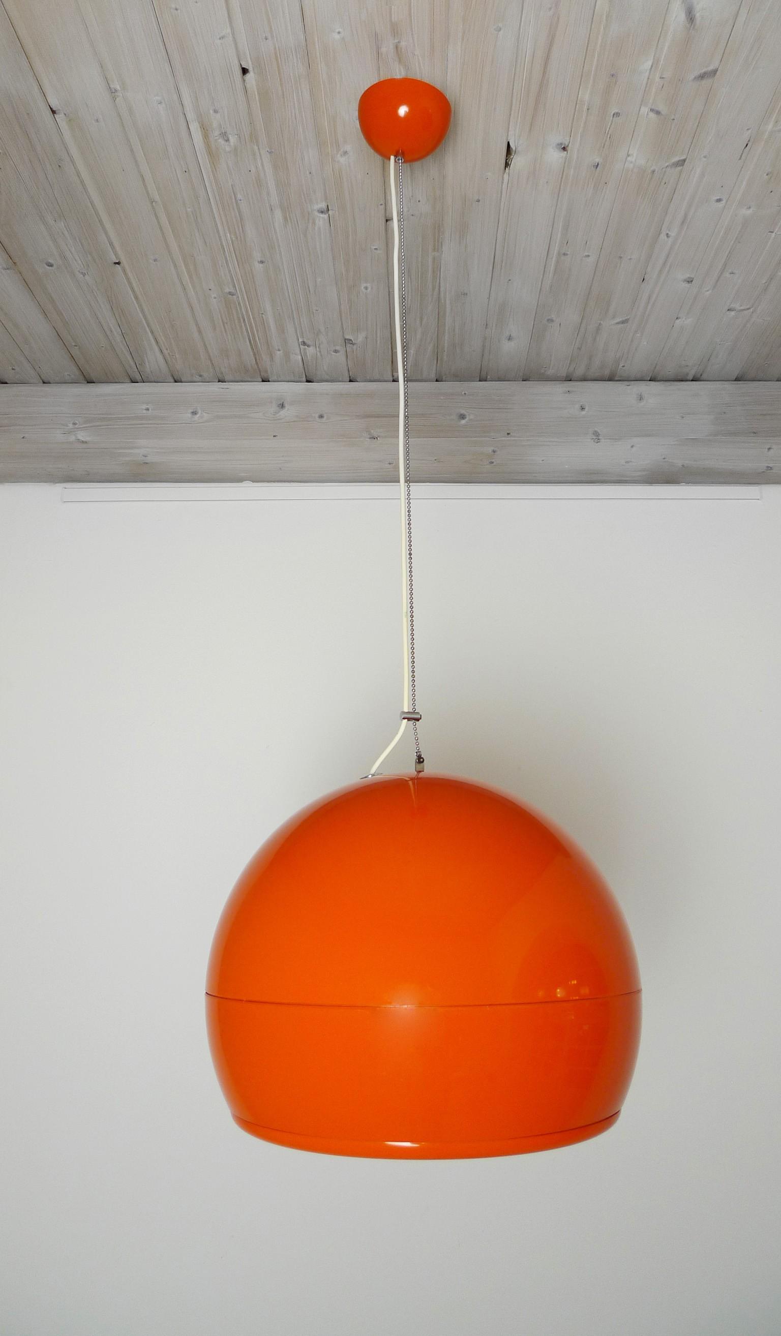 "Artemide ""Pallade"" ceiling lamp, STUDIO TETRARCH - 1960s ..."