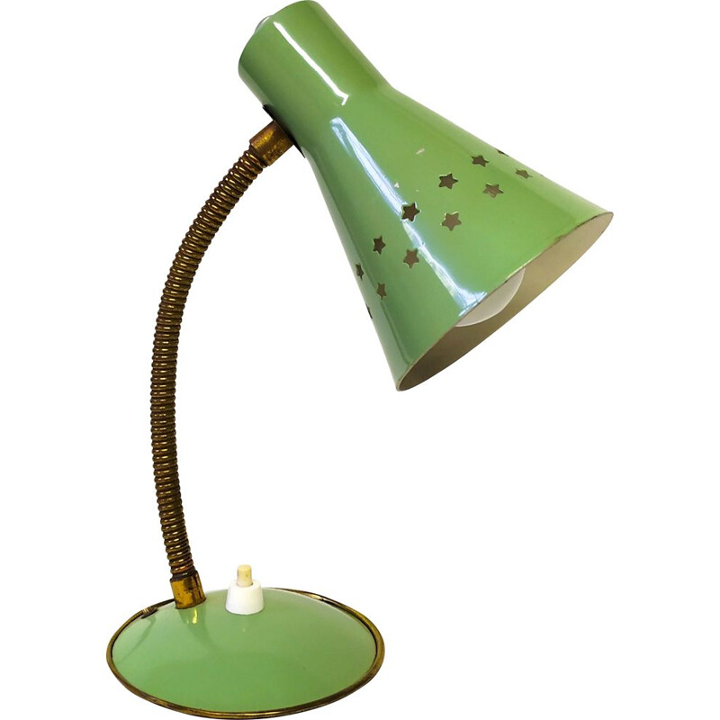 Vintage little stars table Lamp by Angelo Lelli for Arredoluce 1950s