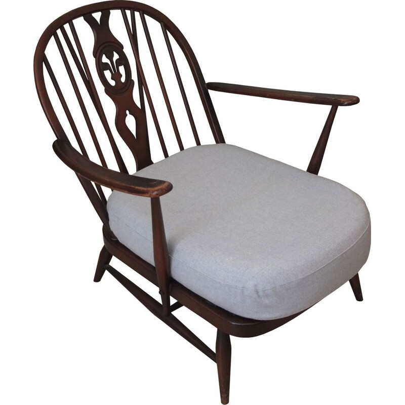 Vintage Ercol armchair by Lucian Ercolani, England 1950