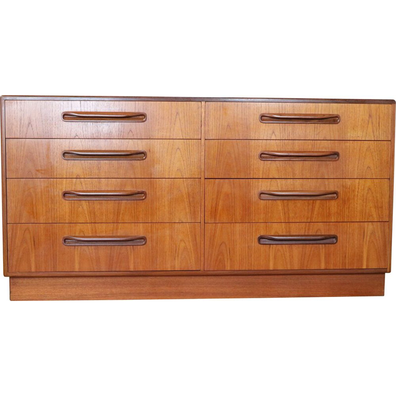 Vintage chest of drawers by VB Wilkins for GPlan 1970s