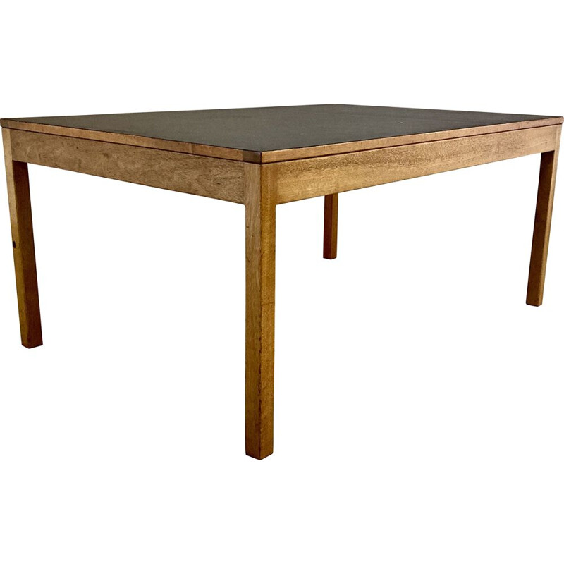 Vintage teak coffee table, Scandinavian 1950s