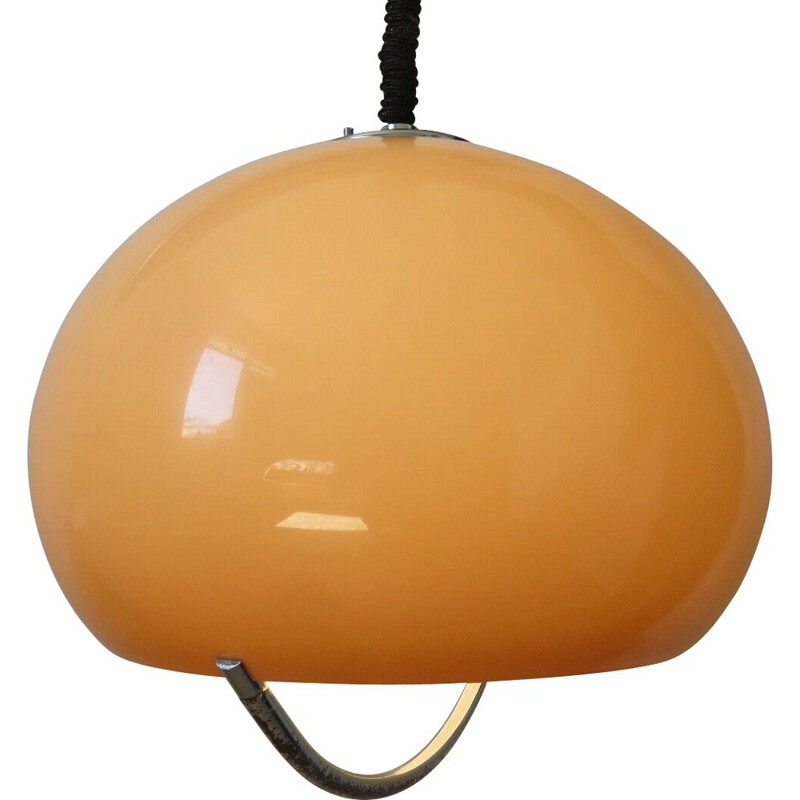 Vintage suspension lamp for Harvey Guzzini, Slovenia 1968s