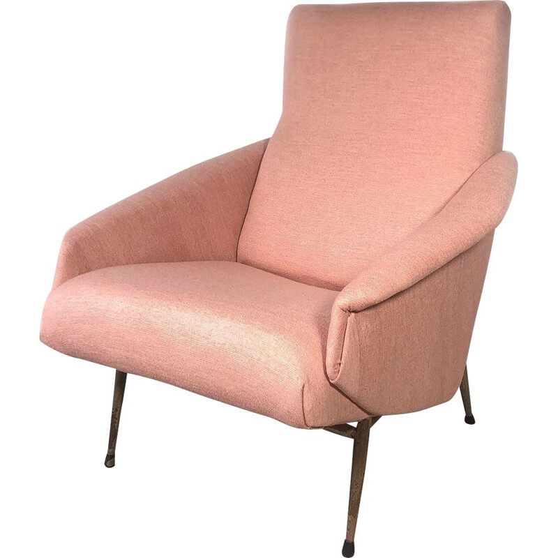 Vintage armchair by Guy Besnard 1950s