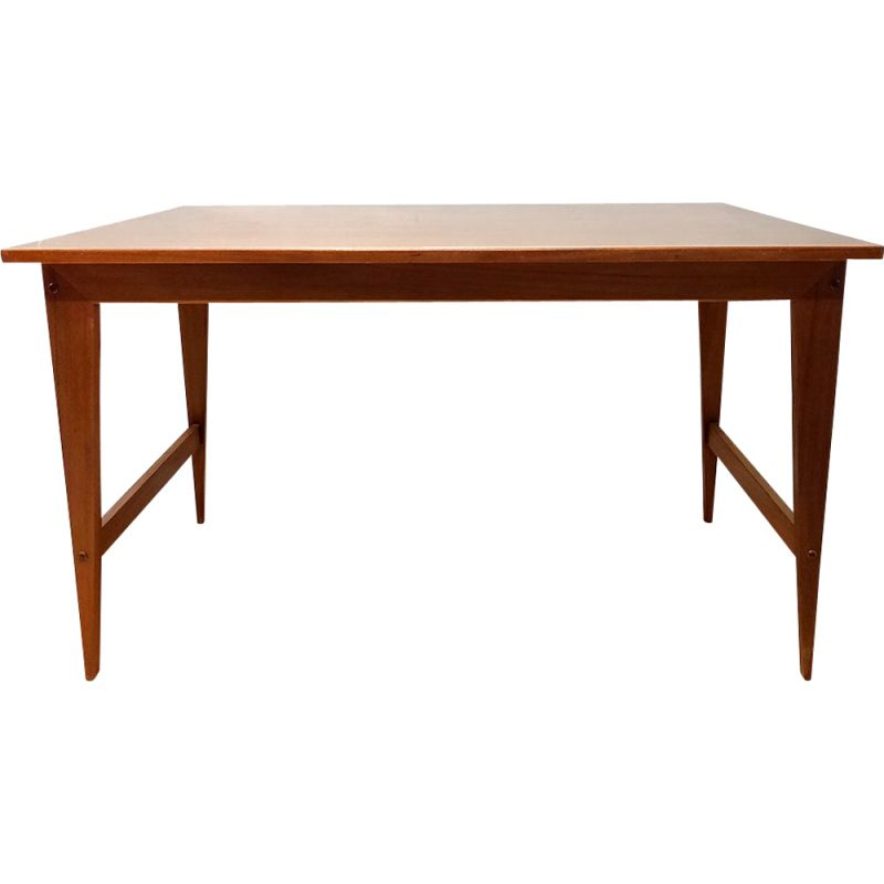 Vintage teak Dining Table by Poul Cadovius 1950s