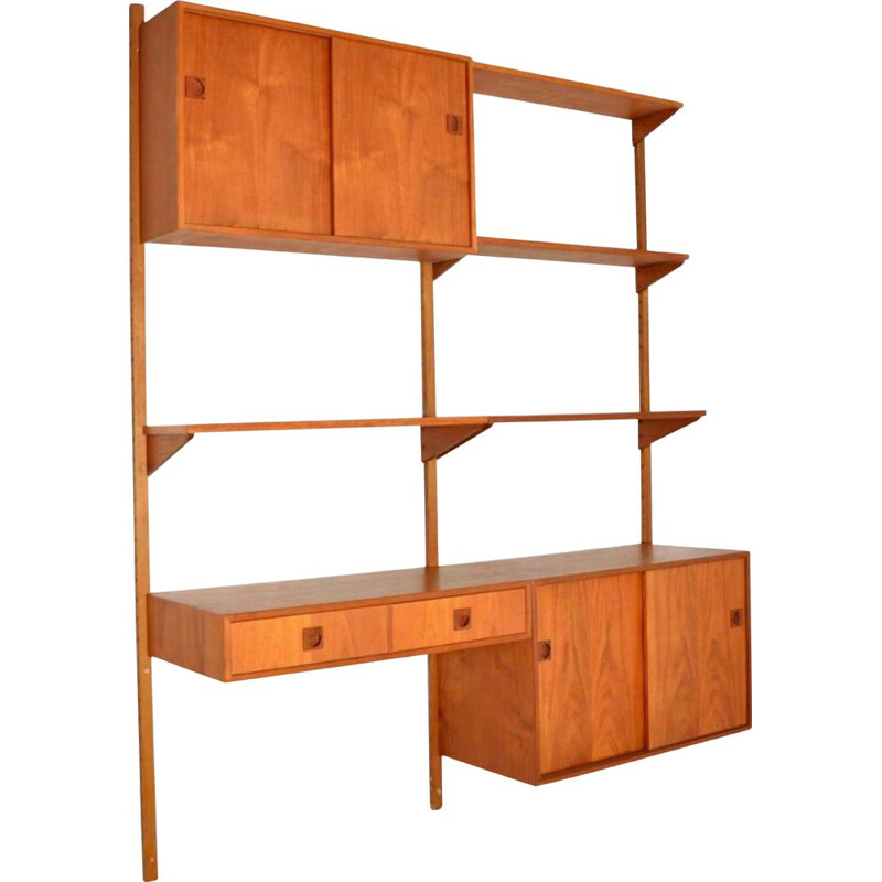 Vintage PS System Wall Unit, Danish 1960s
