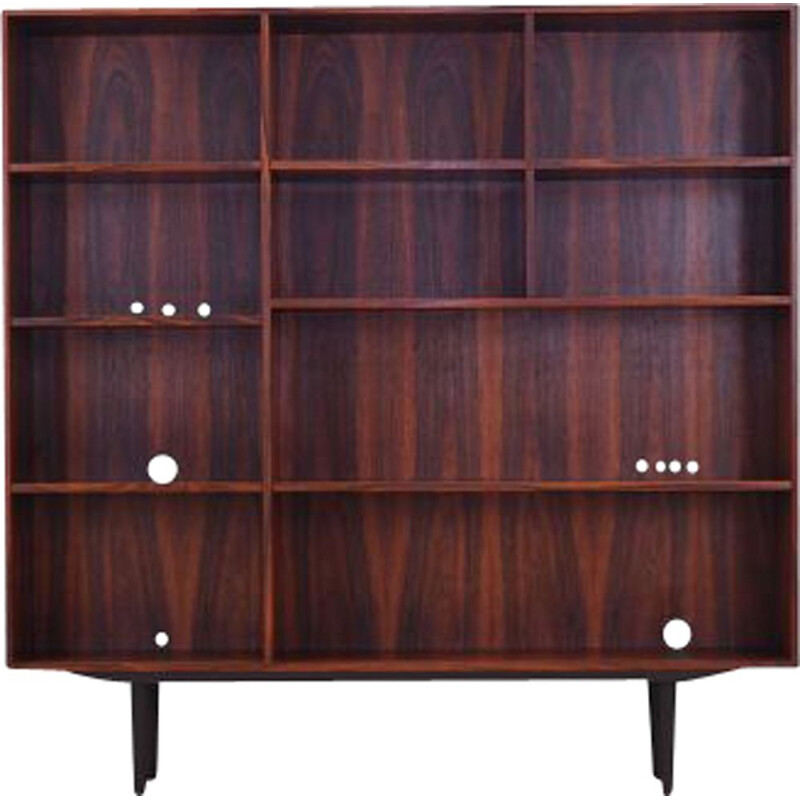 Vintage Rosewood bookcase by Kai Winding, Danish 1960s