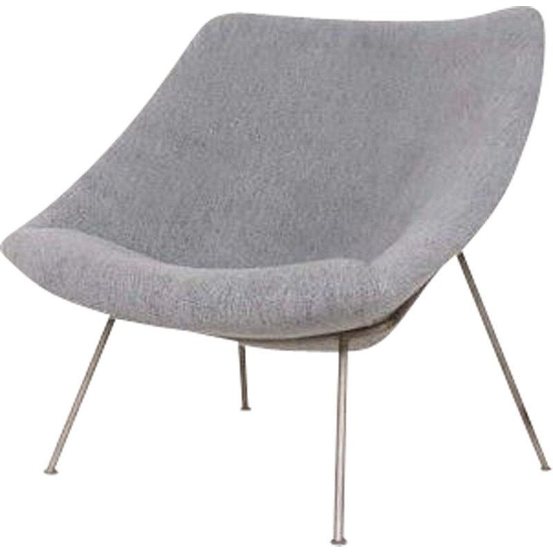 "Vintage armchair ""Oyster"" by Pierre Paulin for Artifort 1960s"