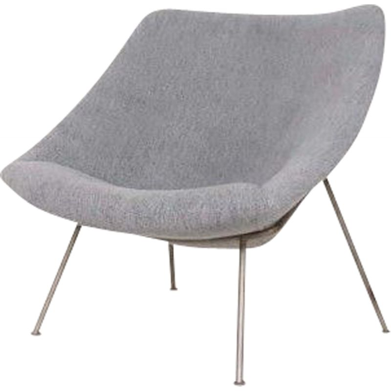 """Vintage armchair """"Oyster"""" by Pierre Paulin for Artifort 1960s"""