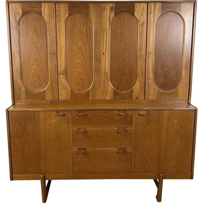 Vintage teak commode by Nathan, British 1960s