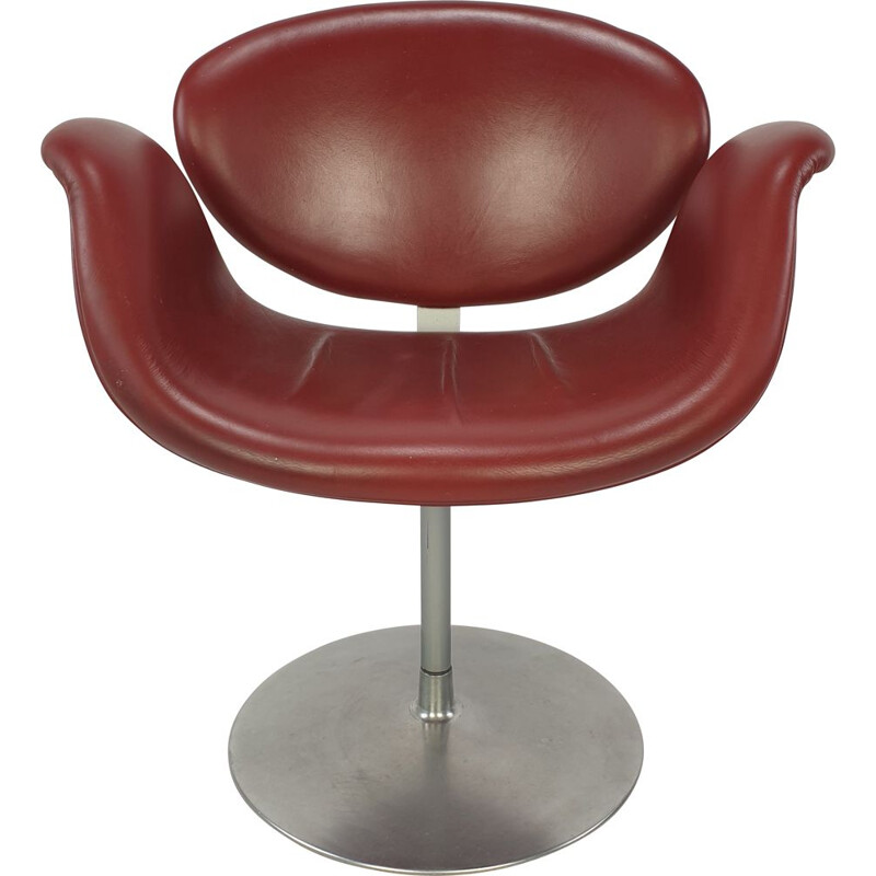 Little vintage Tulip Armchair by Pierre Paulin for Artifort 1980s