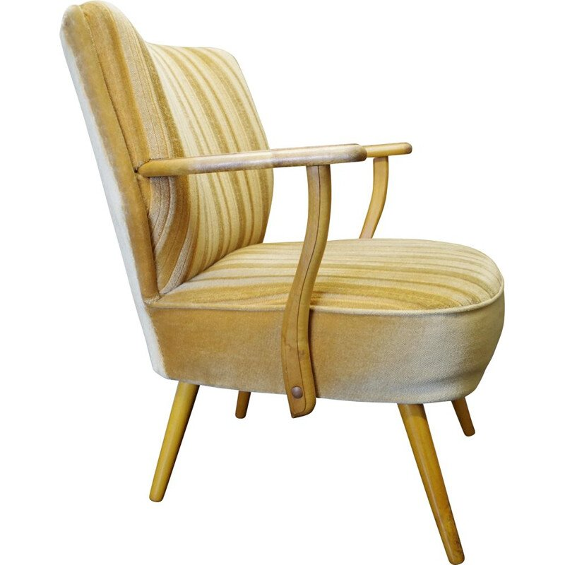 Vintage club armchair with armrests 1960s